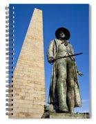 Bunker Hill Memorial Spiral Notebook