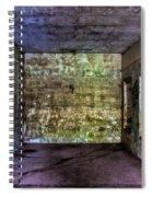 Bunker Walls Spiral Notebook
