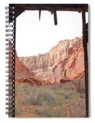 Bunkhouse View 2 Spiral Notebook