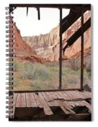 Bunkhouse View 4 Spiral Notebook