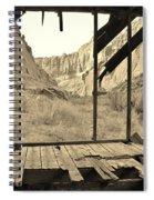 Bunkhouse View 5 Spiral Notebook