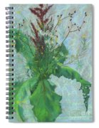Burdock Leaves  Spiral Notebook