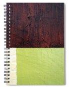 Burgundy Cream Pickle Spiral Notebook