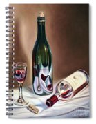 Burgundy Still Spiral Notebook