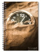 Buried In The Sands Of Time Spiral Notebook