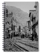 Burke Idaho Ghost Town In Its Prime Spiral Notebook