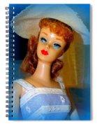 Burlap Babe Spiral Notebook