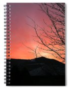 Burlington Sunrise Spiral Notebook