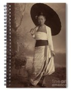 Burmese Lady  Spiral Notebook