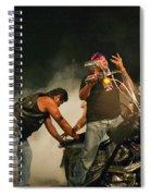 Burn Out Spiral Notebook