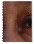 Burned Eyes Spiral Notebook