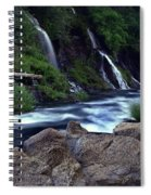 Burney Falls Creek Spiral Notebook