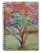 Burning Bush Spiral Notebook