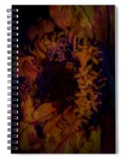 Burning Flower Spiral Notebook