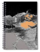 Burning House Destroyed By The Ss Soviet Union Number Two 1941 Color Added 2016 Spiral Notebook