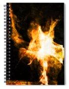 Burning Man Spiral Notebook