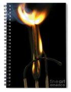 Burning Match Spiral Notebook