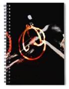 Burning Rings Of Fire Spiral Notebook