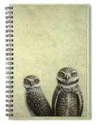 Burrowing Owls Spiral Notebook