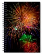 Burst Of Bright Colors Spiral Notebook