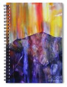 Burst Of Colour Spiral Notebook