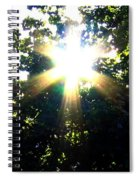 Burst Of Sunlight Spiral Notebook
