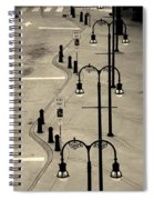 Bus Stop In Nashville Tn Spiral Notebook