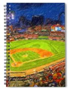 Busch Stadium At Night Rocks Spiral Notebook