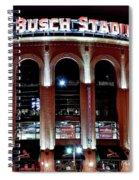 Busch Stadium Spiral Notebook