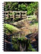 Buschman Park Bridge Spiral Notebook