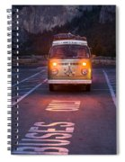 Buses Only Spiral Notebook