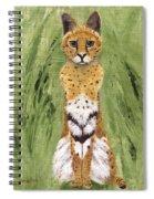 Bush Cat Spiral Notebook