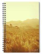 Bushland Of Western Dynamics Spiral Notebook