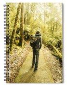 Bushwalking Tasmania Spiral Notebook