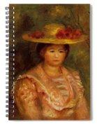 Bust Of A Woman Gabrielle Spiral Notebook