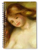 Bust Of A Young Nude 1903 Spiral Notebook