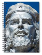 Bust Of Che Guevara In La Higuera Spiral Notebook