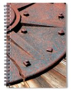 Busted Spiral Notebook