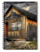 Busted Shack Spiral Notebook
