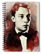 Buster Keaton, Legend Spiral Notebook