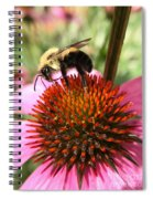 Busy Coneflower Spiral Notebook