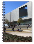 Busy Day At Tampa Museum Of Arts Spiral Notebook