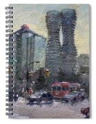 Busy Morning In Downtown Mississauga Spiral Notebook