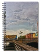 Busy O' Connell Bridge Spiral Notebook