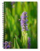 Busy Spiral Notebook