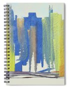 Busy Wednesday Spiral Notebook