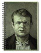 Butch Cassidy Spiral Notebook