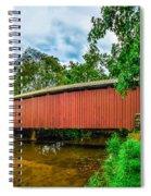 Butchers Mill Covered Bridge Spiral Notebook