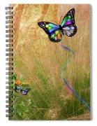 Buterflies Dream Spiral Notebook