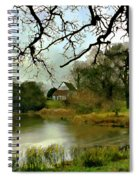 Butlers Retreat Epping Forest Uk Spiral Notebook